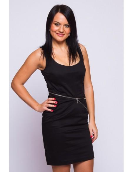 Lihtne must kleit, s. XS, S ja S/M