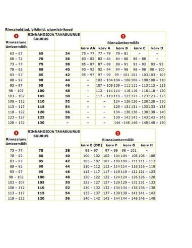 Sunseeker push-up päevitused, s. 38B (75B)